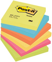 Post-it Notes Vitaliteit, ft 76 x 76 mm, pak van 6 blokken