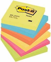 Post-it Notes Vitaliteit, ft 76 x 76 mm, pak van 6 blokken