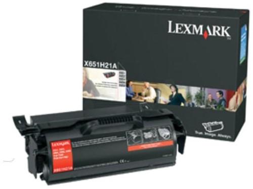 Lexmark Tonercartridge zwart return program - 36000 pagina's - X654X11E