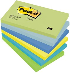 Post-it Notes Droom, ft 76 x 127 mm, pak van 6 blokken