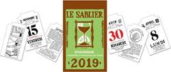 """Dagblokkalender """"Le Sablier"""", 2019"""