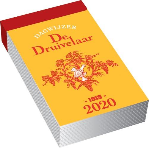 Dagblokkalender De Druivelaar, 2020
