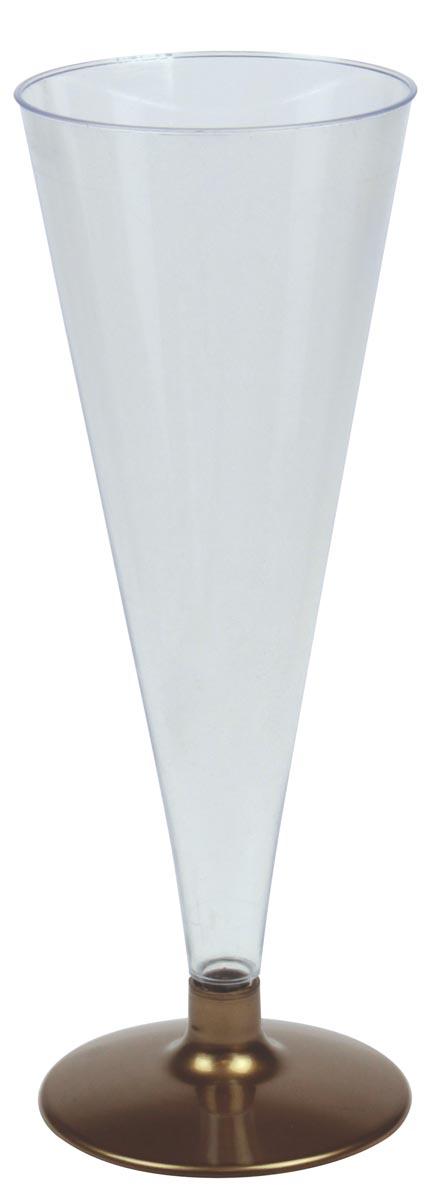Champagneglas, 170 ml, pak van 6 stuks