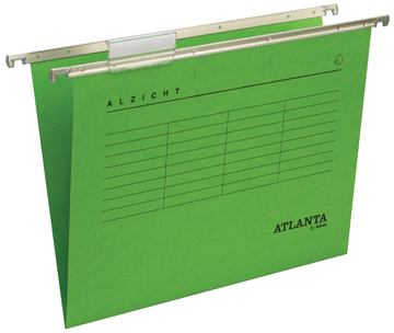 Atlanta hangmappen Alzicht Spectrum ft folio, V-bodem, groen