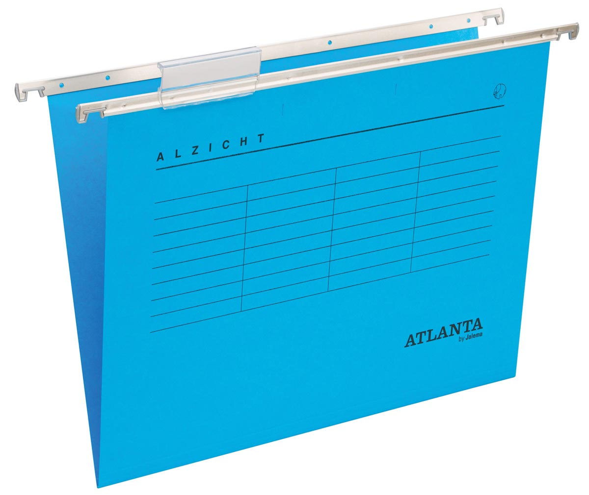 Atlanta hangmappen Alzicht Spectrum ft folio, V-bodem, blauw