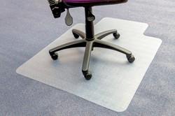 5 Star vloermat voor tapijt, met uitsparing, ft 115 x 134 cm