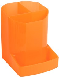 Exacompta pennenbakje MINI-OCTO, doorschijnend oranje
