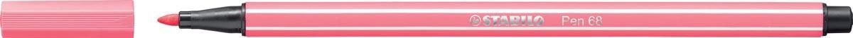 STABILO Pen 68 viltstift, lichtroze