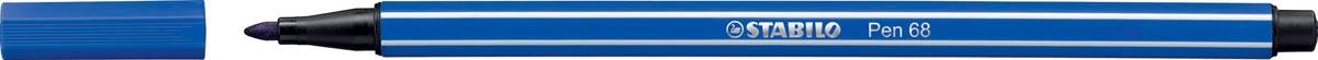 STABILO Pen 68 viltstift, marineblauw