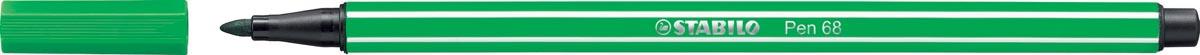 STABILO Pen 68 viltstift, groen