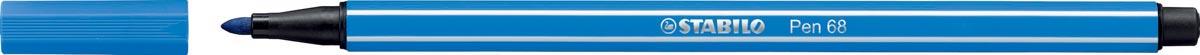 STABILO Pen 68 viltstift, donkerblauw