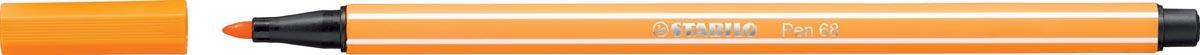 STABILO Pen 68 viltstift, oranje