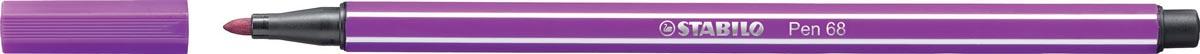 STABILO Pen 68 viltstift, lila