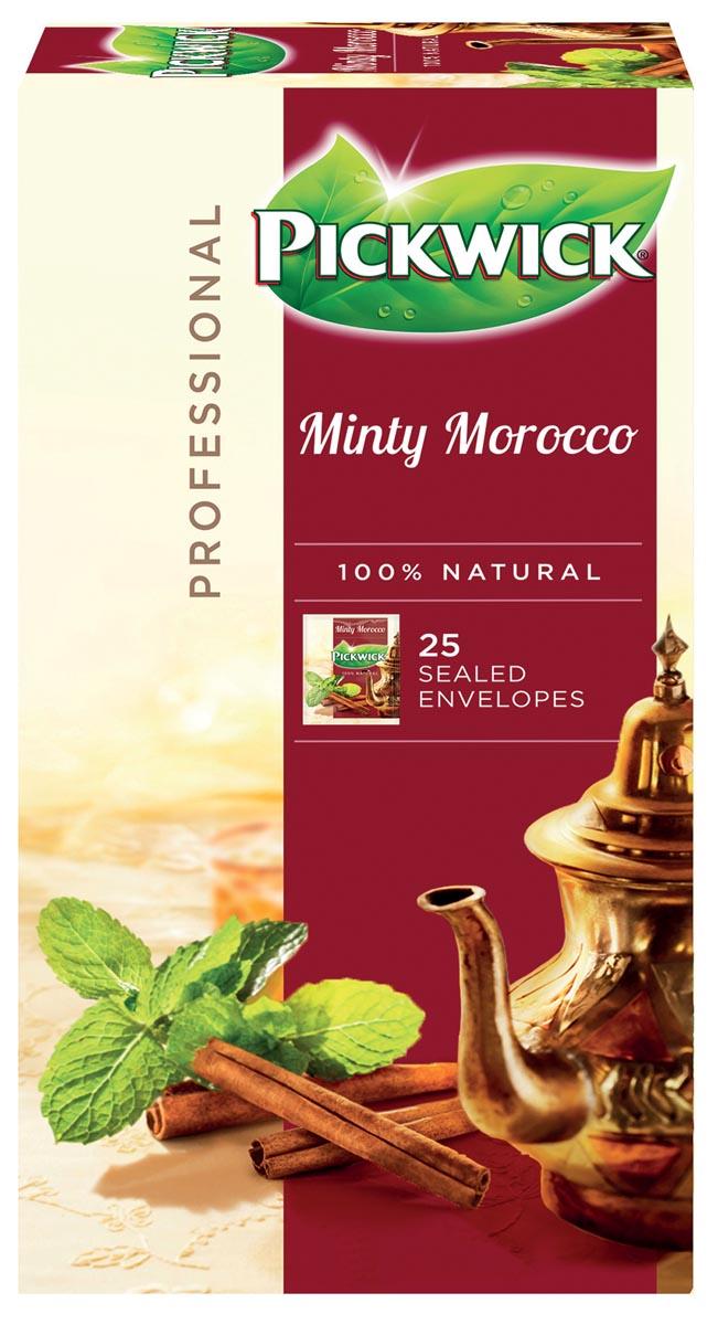 Thee Pickwick minty morocco 25 zakjes van 2gr