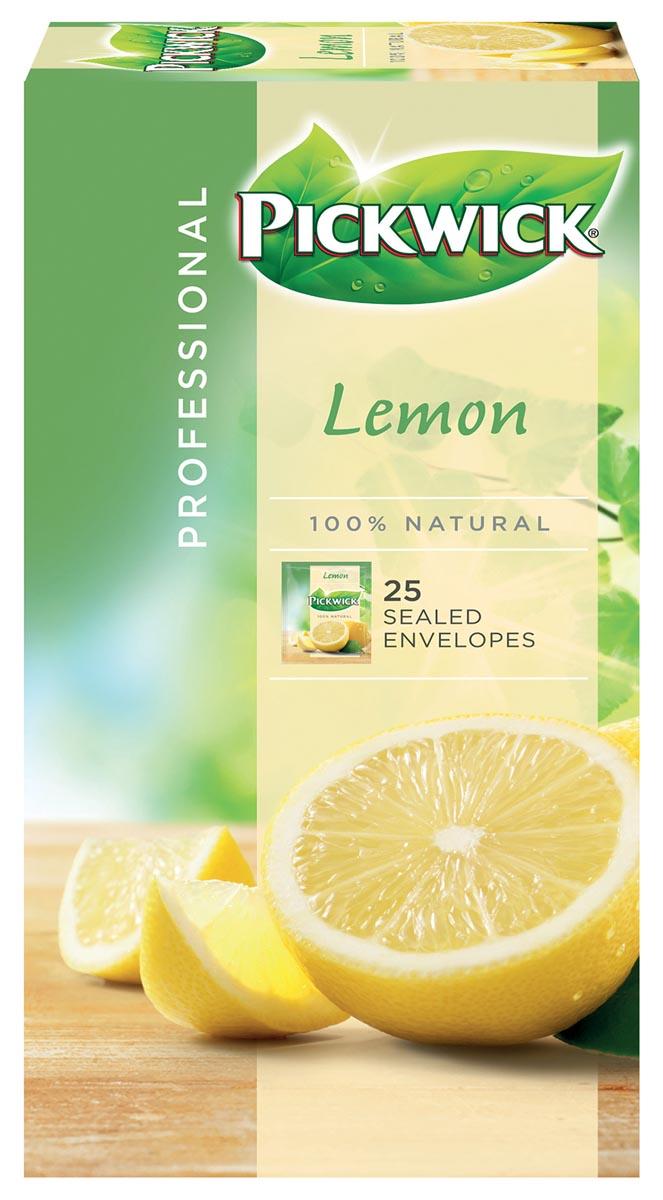 Pickwick thee, citroen, pak van 25 zakjes