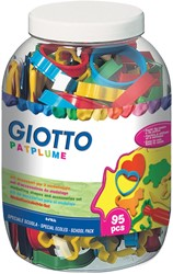 Giotto Patplume accessoires voor boetseren, schoolpack met 95 stuks