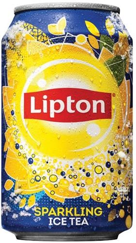 Lipton Ice Tea frisdrank, blik van 33 cl, pak van 24 stuks