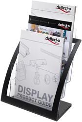 Deflecto Folderhouder Contemporary, ft A4, zwart