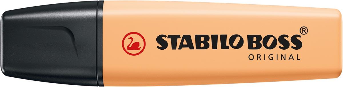 STABILO BOSS ORIGINAL Pastel markeerstift, pale orange (lichtoranje)