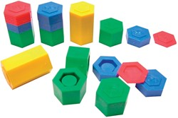 Bouhon gewichtjes, zak met 54 stuks in geassorteerde kleuren