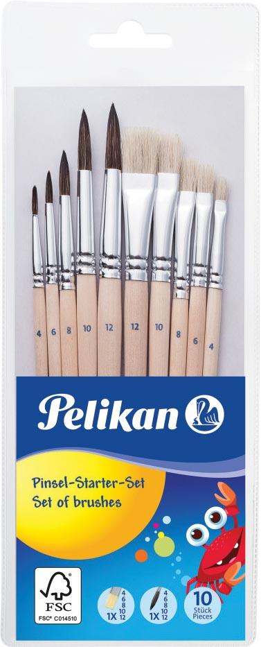 Pelikan penselenset , blister van 10 stuks
