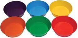 Bouhon sorteerschaal, rond, pak met 6 stuks in geassorteerde kleuren
