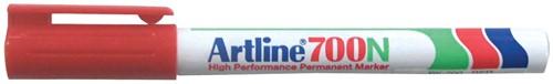 Permanent marker Artline 700 rood