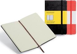 Moleskine notitieboek, ft 9 x 14 cm, geruit, harde cover, 192 bladzijden, zwart