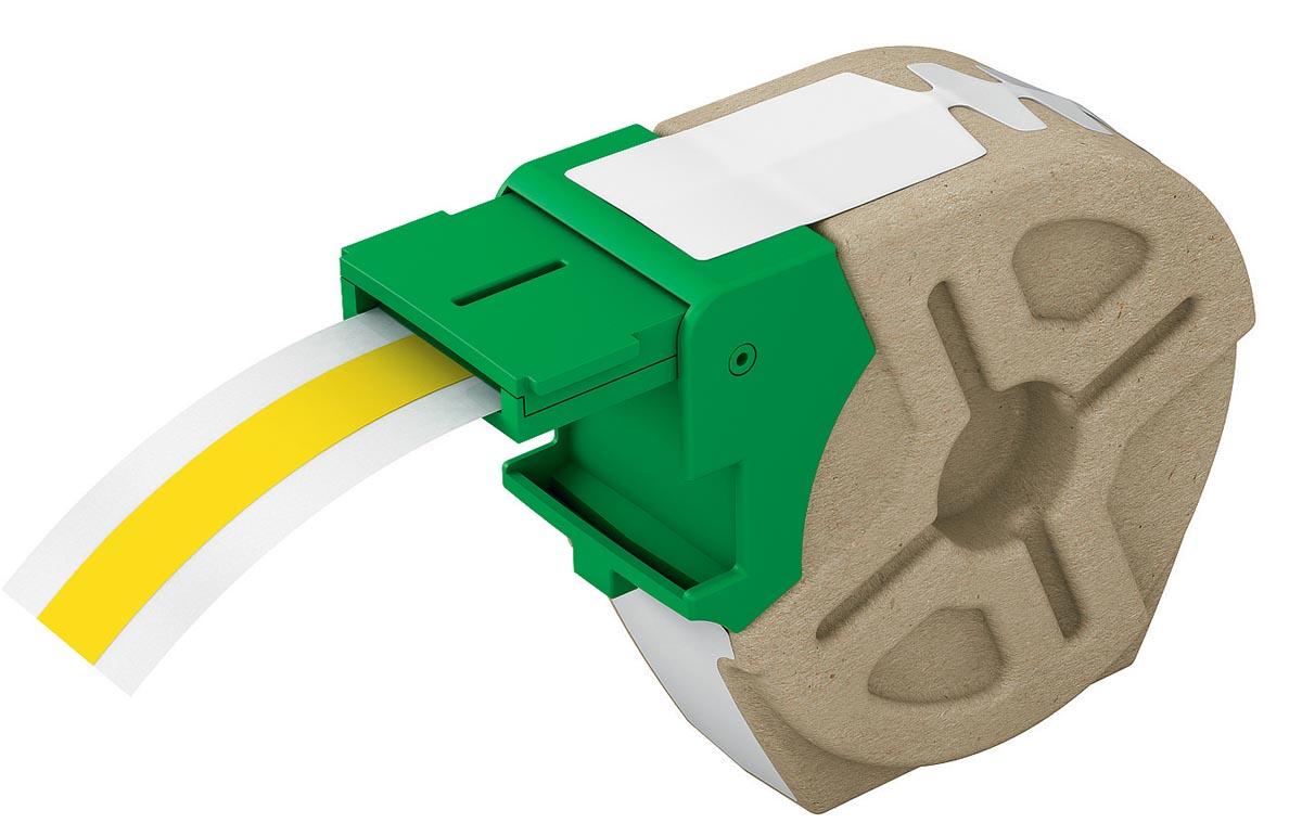 Leitz Icon labelcartridge plastic, voor labels tot 12 mm breed, geel
