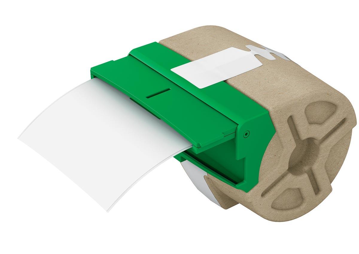 Leitz Icon labelcartridge plastic, voor labels tot 88 mm breed, wit
