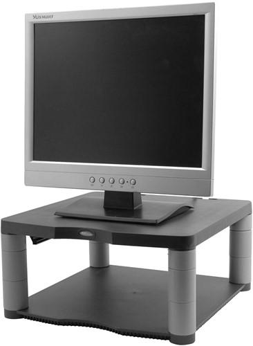 Fellowes beeldschermhouder in de hoogte verstelbaar (min. 64 mm tot 165 mm) met basis uit plastic