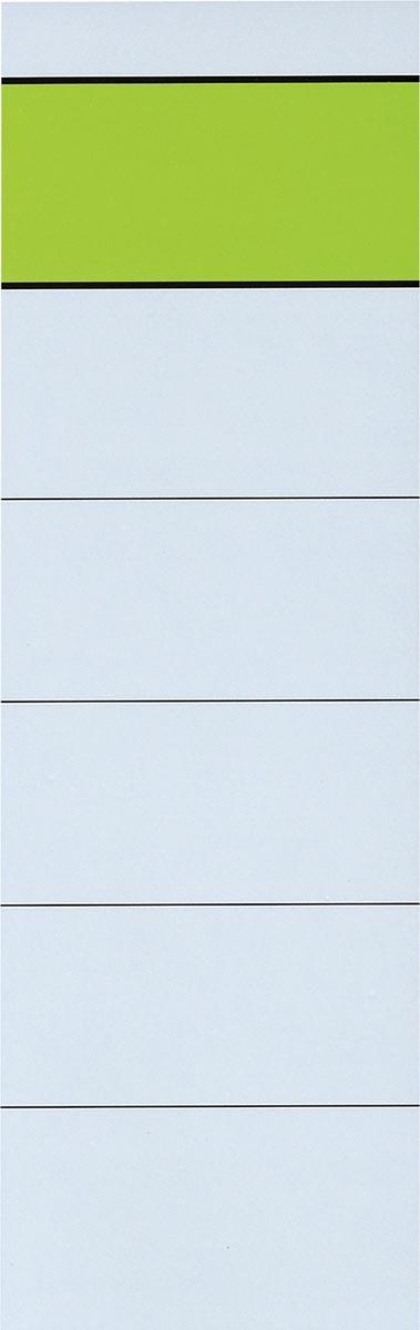 Zelfklevende rugetiketten ft 6 x 19 cm, pak van 10 stuks