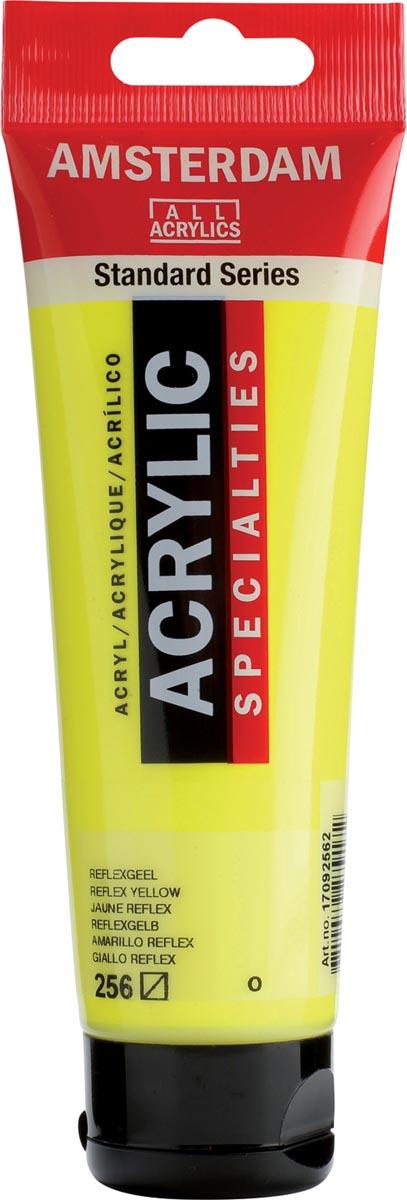 Amsterdam acrylverf, tube van 120 ml, Reflexgeel