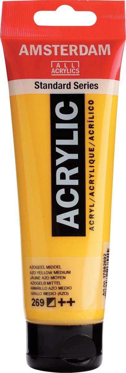 Talens acrylverf Amsterdam azogeel middel