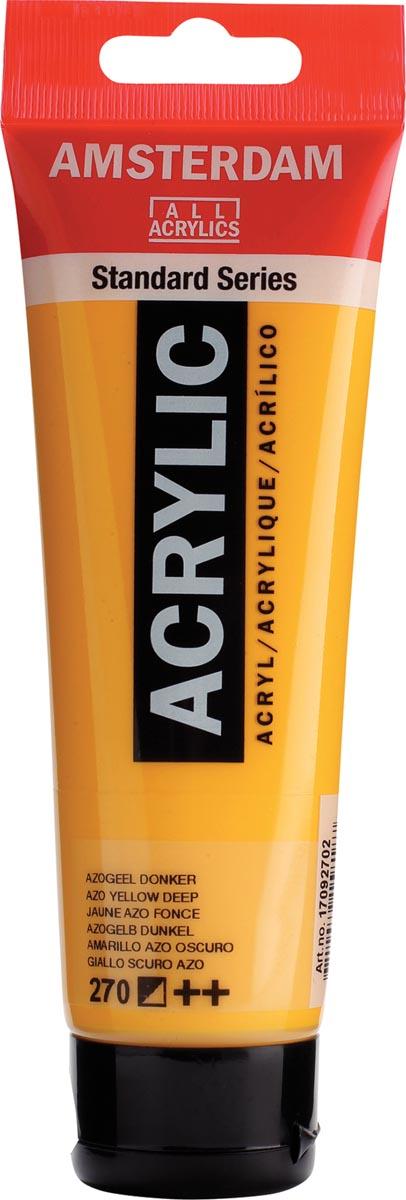 Talens acrylverf Amsterdam azogeel donker