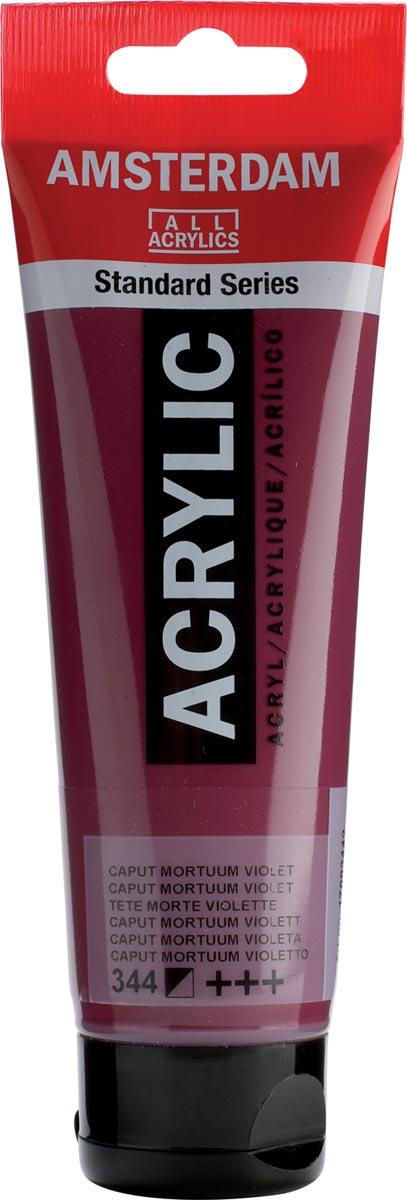 Amsterdam acrylverf, tube van 120 ml, Caput mortuum violet
