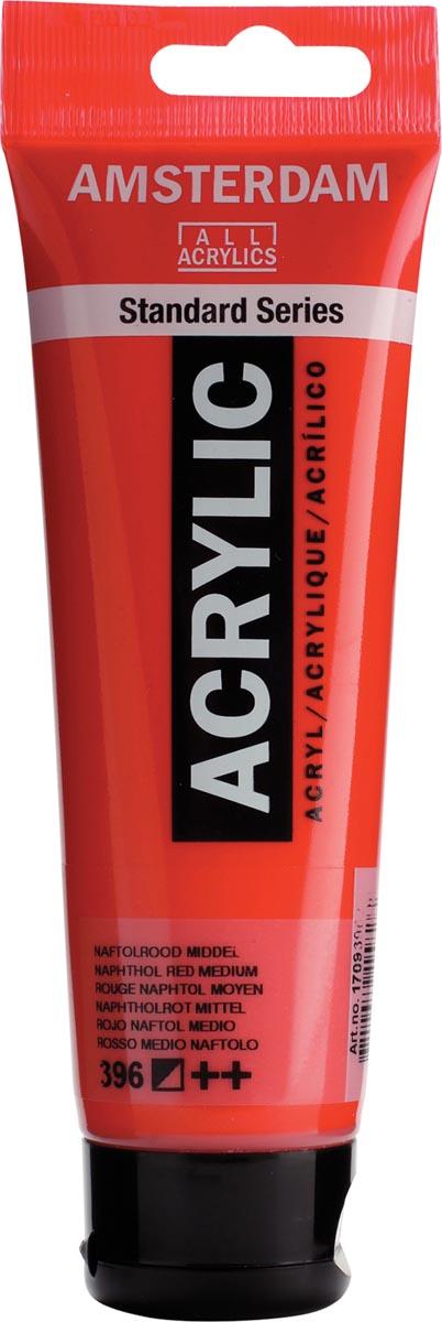 Talens acrylverf Amsterdam naftolrood Midden