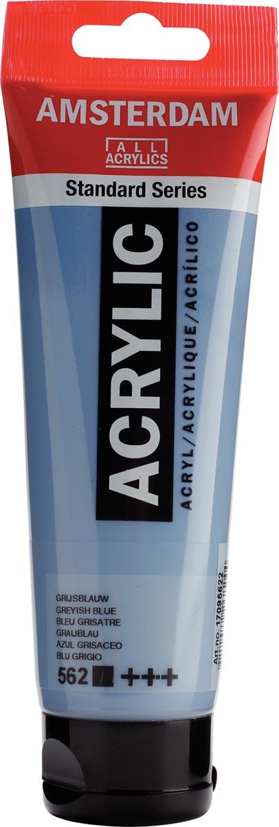 Talens acrylverf Amsterdam grijsblauw