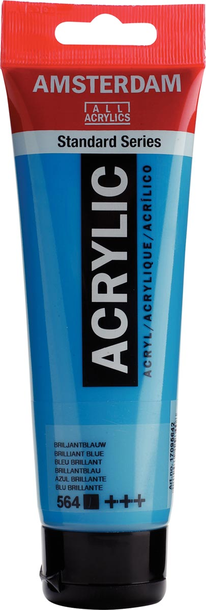 Talens acrylverf Amsterdam briljantblauw