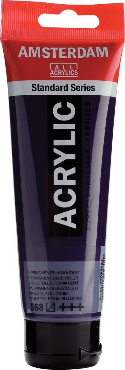 Talens acrylverf Amsterdam permanent blauwviolet