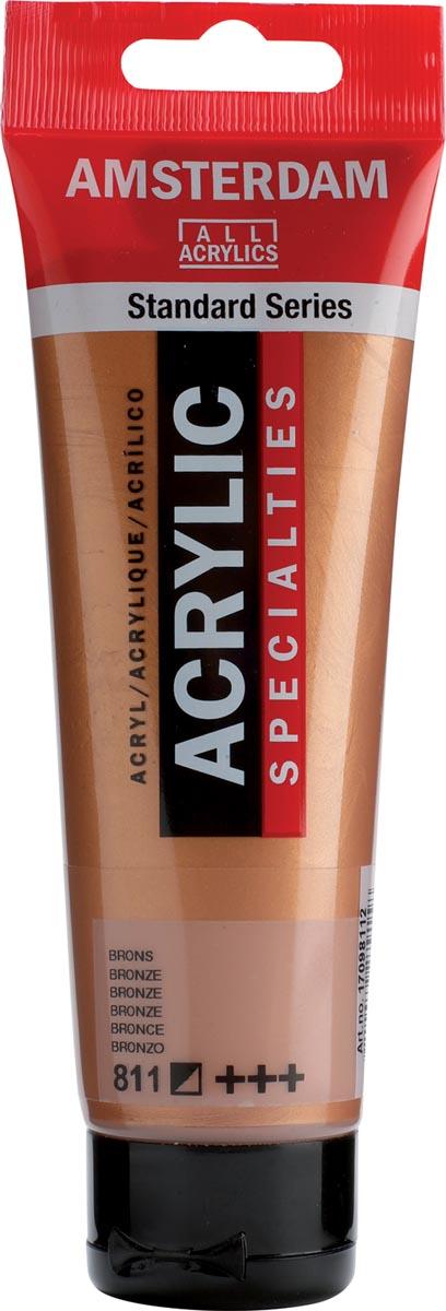 Amsterdam acrylverf, tube van 120 ml, Brons