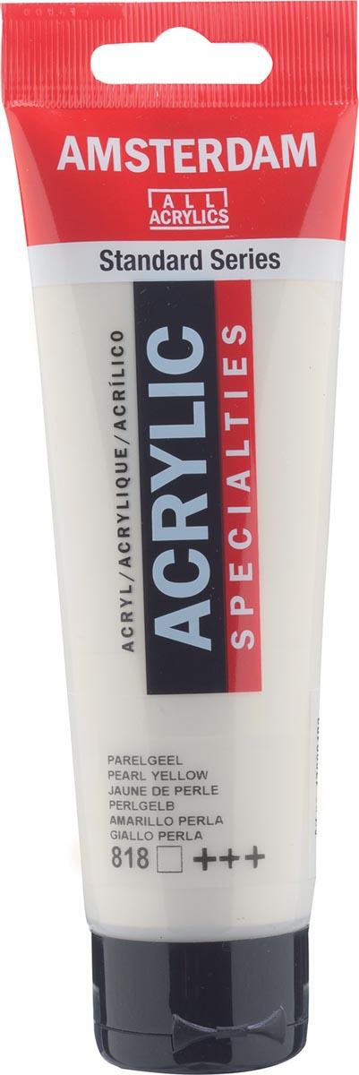 Amsterdam acrylverf, tube van 120 ml, Parelgeel