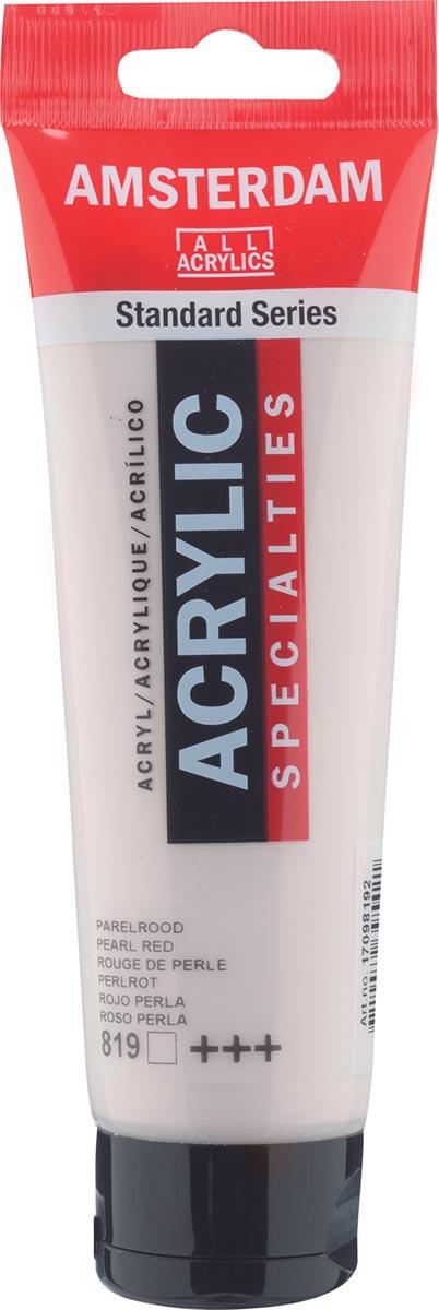 Amsterdam acrylverf, tube van 120 ml, Parelrood
