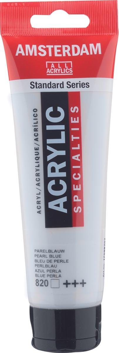Amsterdam acrylverf, tube van 120 ml, Parelblauw