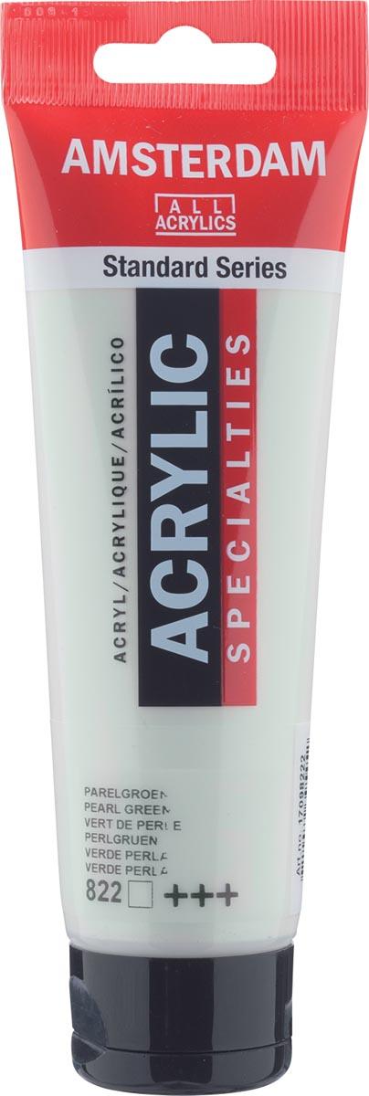 Amsterdam acrylverf, tube van 120 ml, Parelgroen