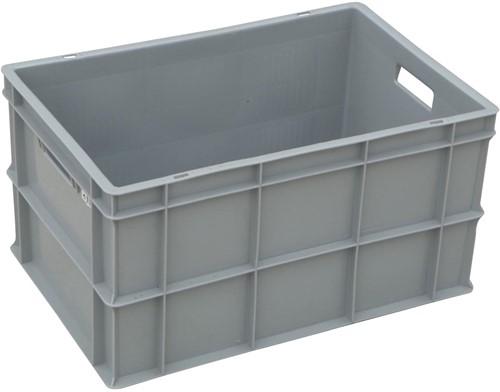 Viso stapelbare bak 63 liter, ft 36,5 x 56,5 x 31,5 cm, grijs-2
