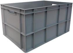 Viso stapelbare bak 63 liter, ft 36,5 x 56,5 x 31,5 cm, grijs