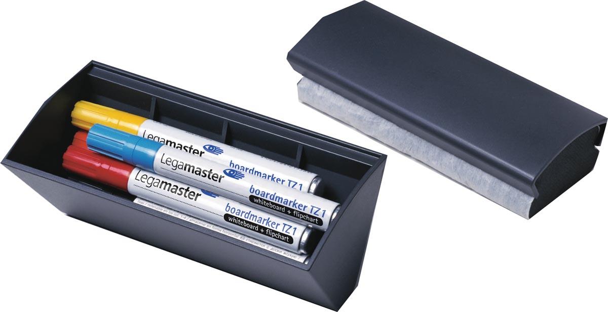 Legamaster bordenwisser met compartiment voor markers