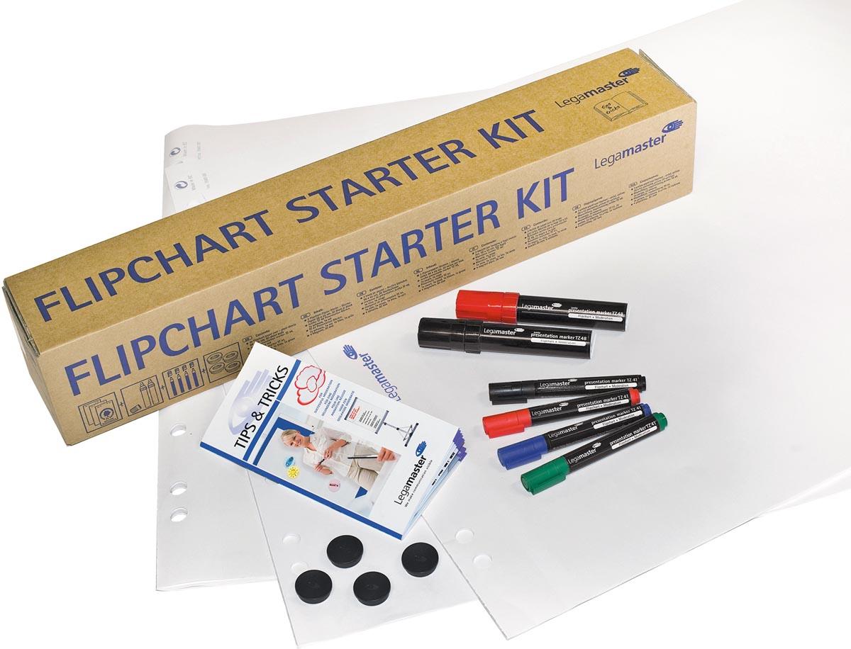 Legamaster flipchart starterkit, 14-delig