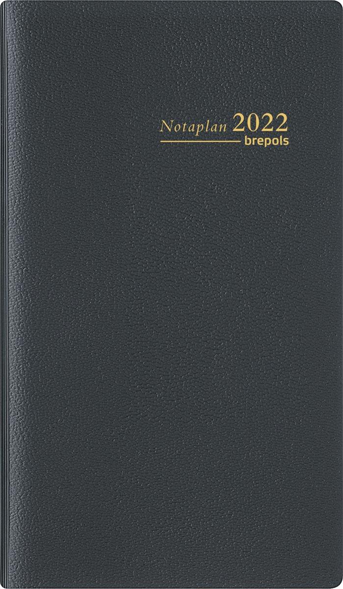 Brepols Notaplan Genova, zwart, 2022